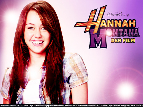 HM The Movie Miley promo wallpaper oleh DaVe!!!
