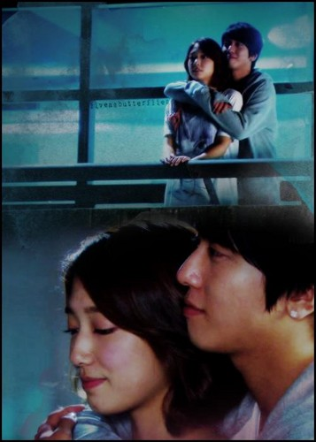 Jung Yong Hwa and Park Shin Hye