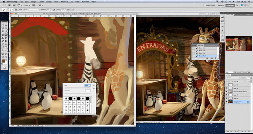 Madagascar 3 work in progress (part2)