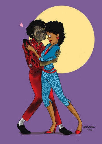 Michael Jackson - Thriller Cartoon