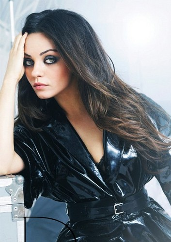 Mila Kunis: Vogue Brazil August 2012 Beauty