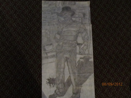 My Freddy Krueger drawing (full figure)