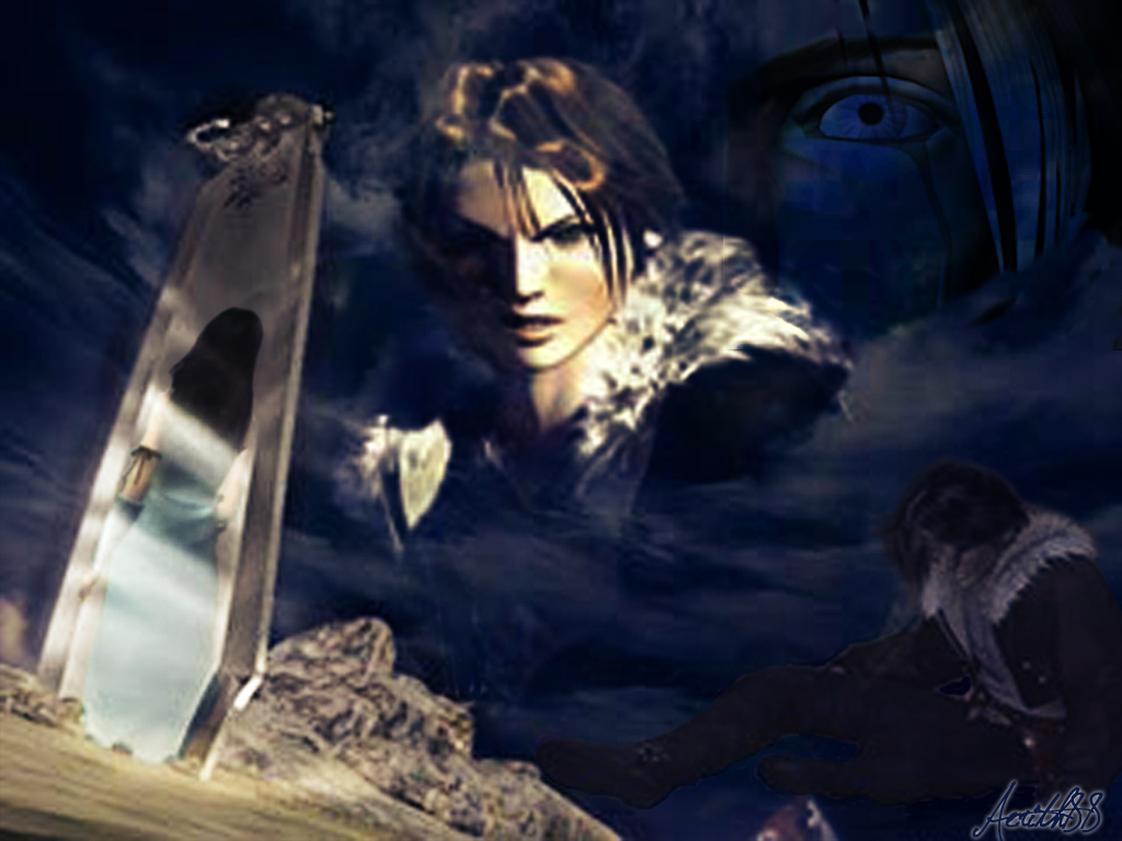 Squall Final Fantasy Viii Wallpaper 31777643 Fanpop