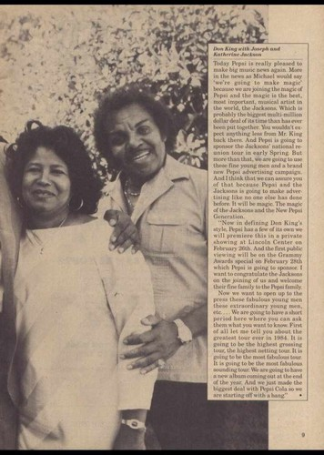 rare Katherine Jackson with Joe