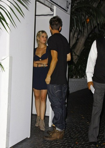 Ashley at chateau Marmont in Hollywood