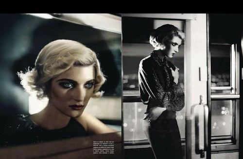 *Sophie Sumner for Italian Vogue*