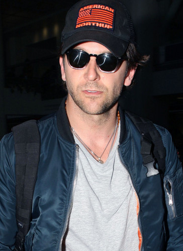 Bradley Cooper arrived at the LAX Airport in Los Angeles,