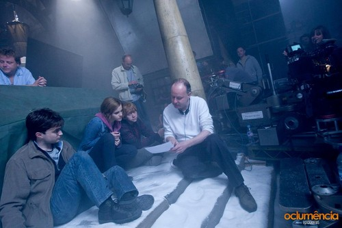 Deathly Hallows Part II BTS foto