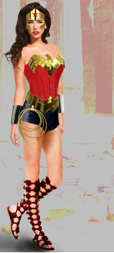 Jacqueline Macinnes Wood as Wonder Woman