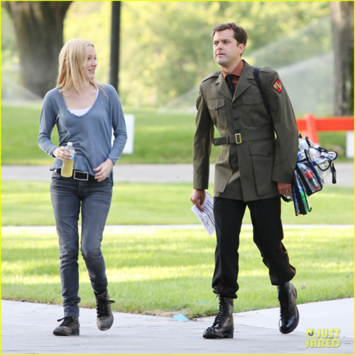 Joshua Jackson: 'Fringe' Set with Georgina Haig!
