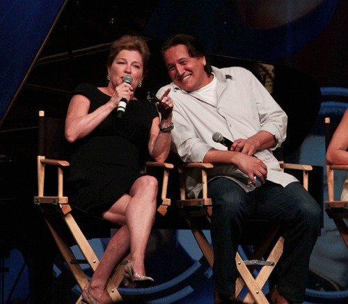 Kate Mulgrew and Robert Beltran - Las Vegas star, sterne Trek Convention 2012
