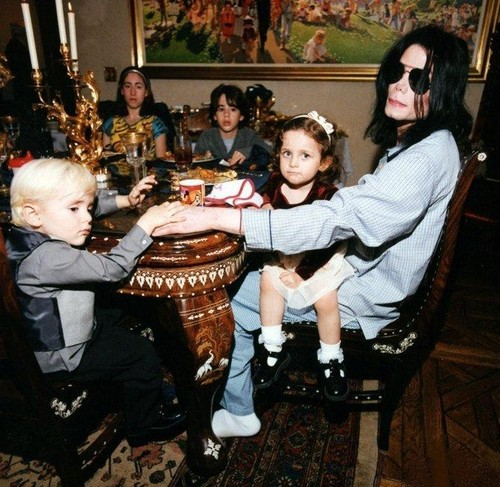 Michael - private life with his kids