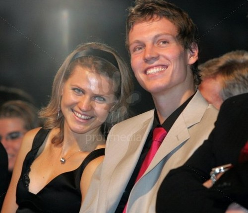 Safarova and Berdych 2008