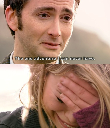 The Doctor and Rose in 'Doomsday' <3