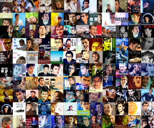 Wallpaper-ninth and tenth Doctors <3