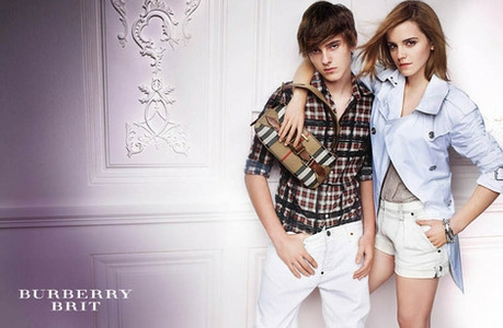 Alex And Emma Watson For барберри, burberry