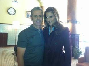 Behind the Scenes With Nathan Fillion, Stana Katic, and Guest سٹار, ستارہ C. Thomas Howell