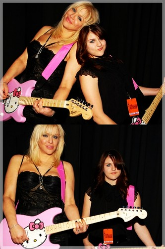 Courtney & Frances Bean
