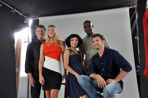 John Noble and Fringe cast