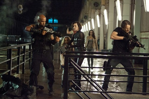 Leon in RE Retribution 2012