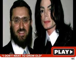Michael And Former Spiritual Advisor, Rabbi Schumley Boteach