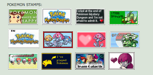 My Pokemon Stamps on DA