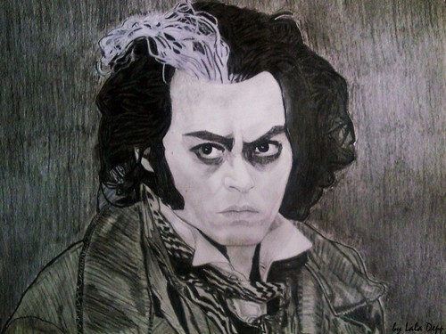 My Sweeney Todd drawing:)
