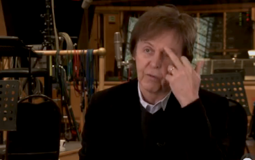 Paul's finger еще years after :)