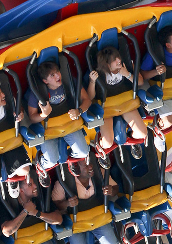 Prince and his sister Paris Jackson at Six Flags in illinois NEW AUGUST 27th 2012