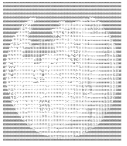Wikipedia Logo in ASCII