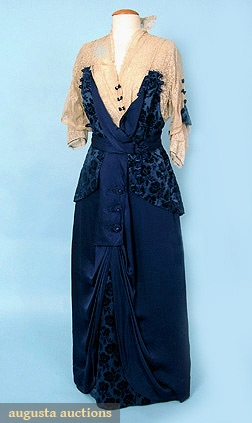 attempting to make this 1914 tea gown ( scaled down)