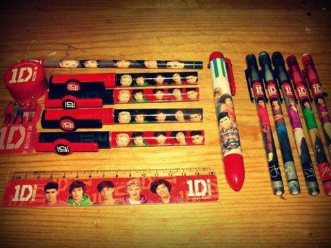 1D school supples