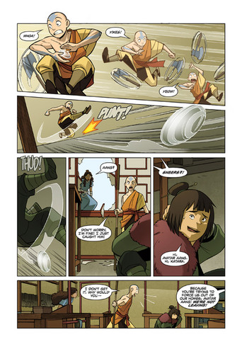 ATLA The promise part 3 - first pages