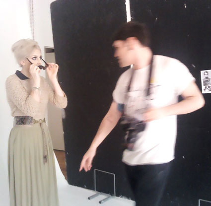 "Perrie BTS of New photoshoot for ""Fiasco"" magazine - August 2012. {HQ}"