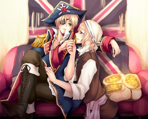 Pirate England and France