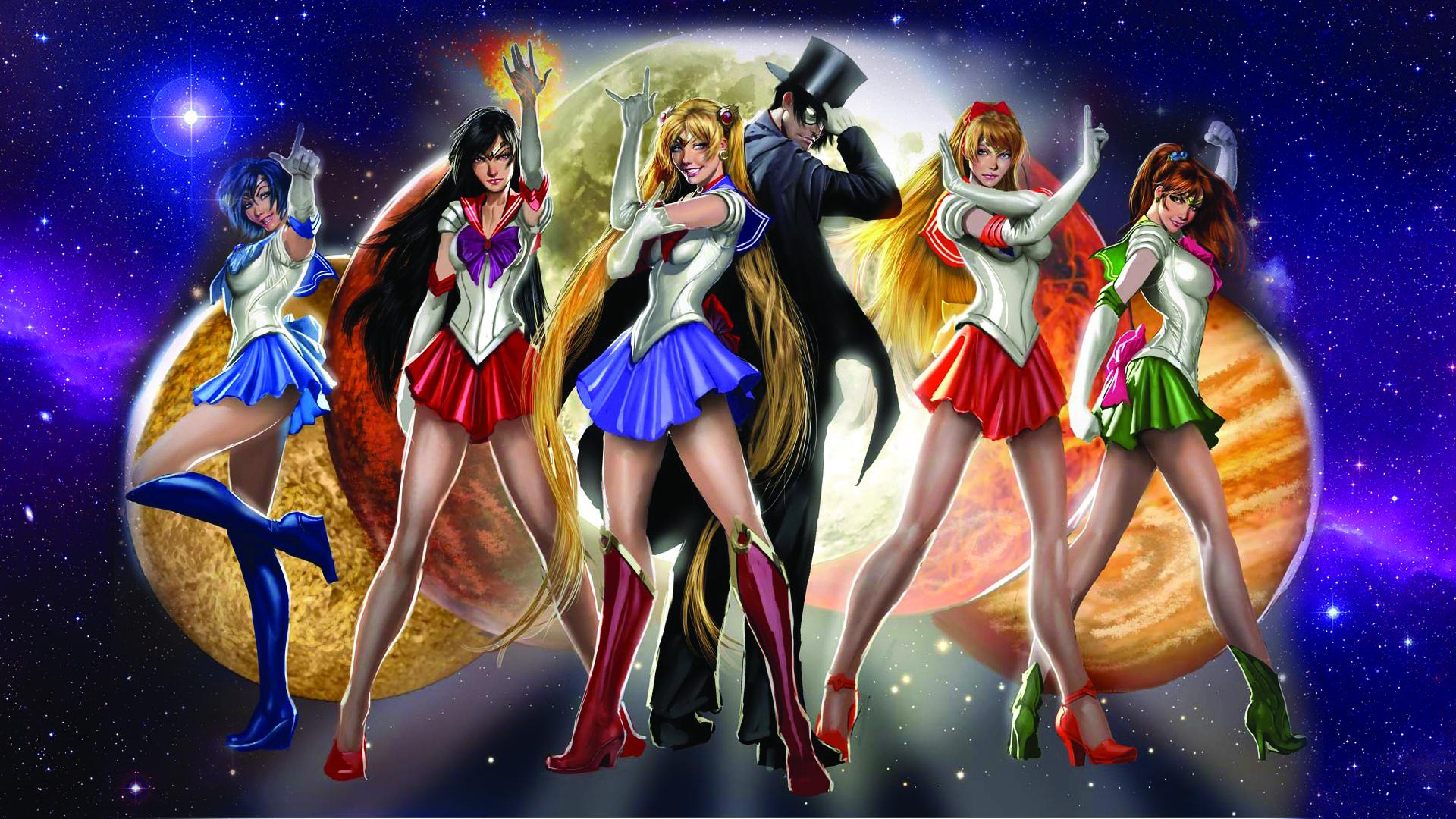 Real Life Sailor Scouts Sailor Moon Wallpaper 32045096 Fanpop