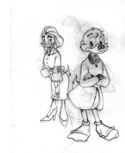 Scrooge and Goldie