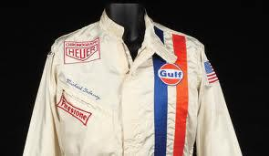 Steve's racing suit from Le man