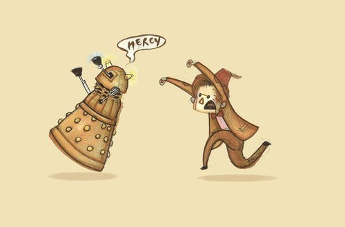 The Doctor and Daleks