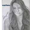 miley cyrus drawing by warveen warhan6 photo